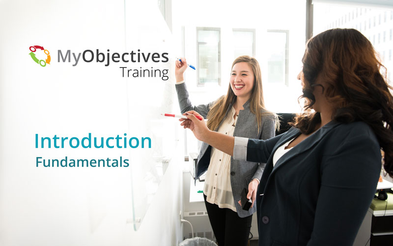 MyObjectives Introduction Course: The Fundamentals